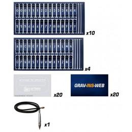Kit complet de gravage - URBAN
