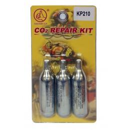 Cartouches CO2 pour kit de...