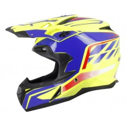 Casque Cross S820 Blanc...
