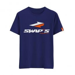 T-Shirt Bleu Homme Swap's...