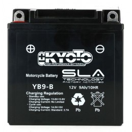 Batterie YB9-B SLA-AGM -...